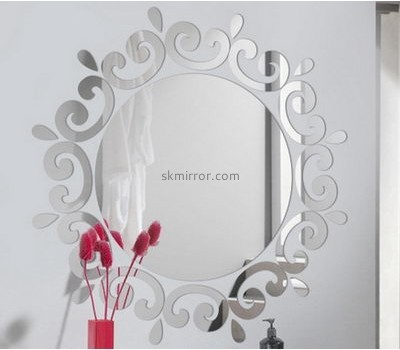 Custom design acrylic sticker mirror MS-005