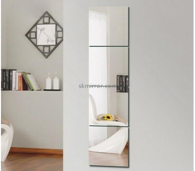 Custom design acrylic wall mounted mirror for dressing WM-001