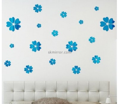 Wholesale acrylic flower sticker handmade sticker mirror sticker MS-057
