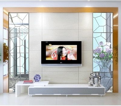 Wholesale acrylic large size wall sticker acrylic mirror 3d floor sticker MS-093