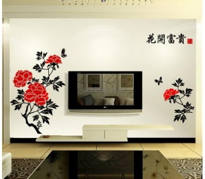 Hot selling acrylic sticker mirror sticker custom mirror MS-133