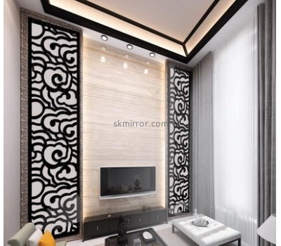 Hot sale acrylic wall sticker 3d mirror wall mirror decorative wall mirror glass tile MS-139