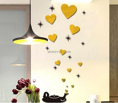 Wholesale mirrors suppliers custom design mirror wall mirror stickers MS-375