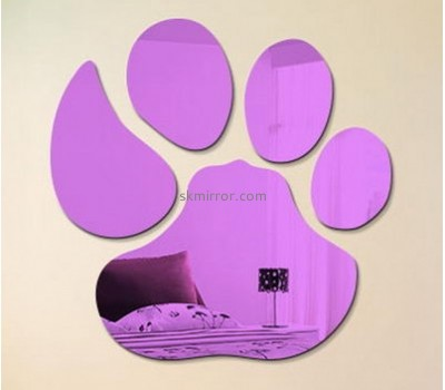 Custom decorative wall decals cheap decorative wall mirrors plastic mirrors for children MS-444