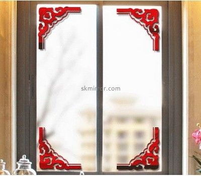 Mirror manufacturers custom design acrylic stickers for mirrors decoration MS-727