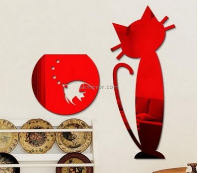Mirror manufacturers customize acrylic bedroom wall decals stickers MS-743