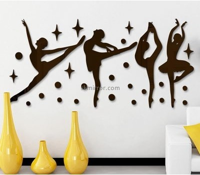 Mirror manufacturers customize acrylic wall 3d stickers MS-751