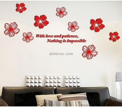 Mirror manufacturers customize wall decals 3d decals for walls MS-793