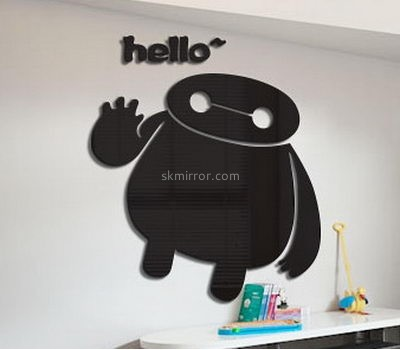 Decorative mirror manufacturers customize kids wall decal stickers MS-805