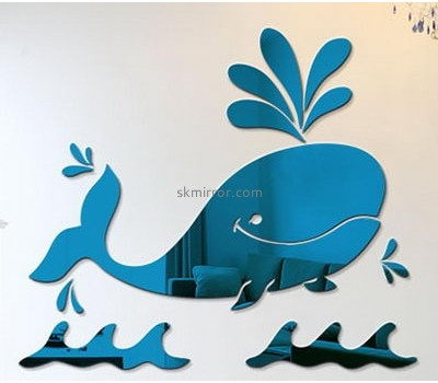 Sticker manufacturer wholesale custom wall mirrors stickers bathroom MS-843