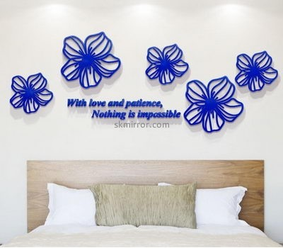 Wholesale mirrors suppliers customized acrylic decorative mirror stickers for walls MS-867
