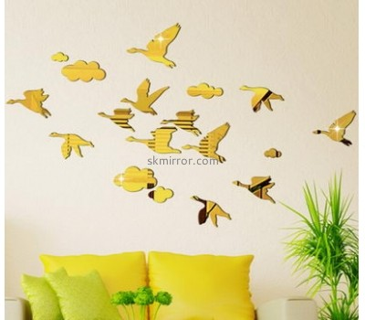 Mirror company customized mirror butterfly wall decals MS-865