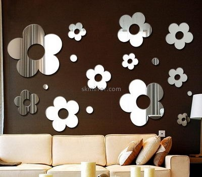 Mirror company customized cheap acrylic small wall stickers mirror MS-884