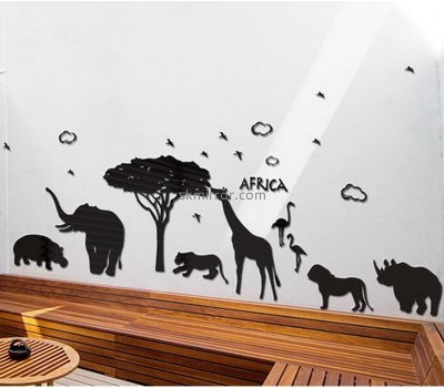 Mirror manufacturers customized acrylic mirror sticker for wall decoration MS-892