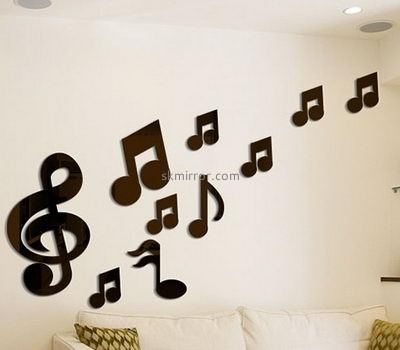 Mirror manufacturers customized wall sticker decals for home MS-918