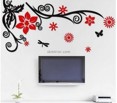 Mirror manufacturers customized acrylic family wall decals mirror MS-927