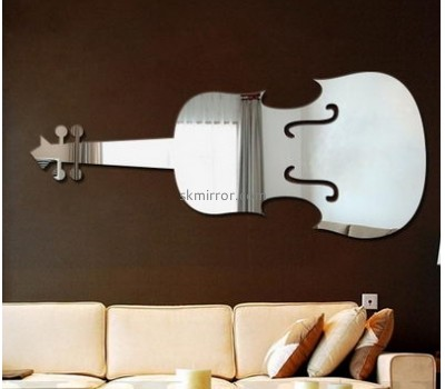 Mirror manufacture customized acrylic 3d mirror wall stickers MS-983