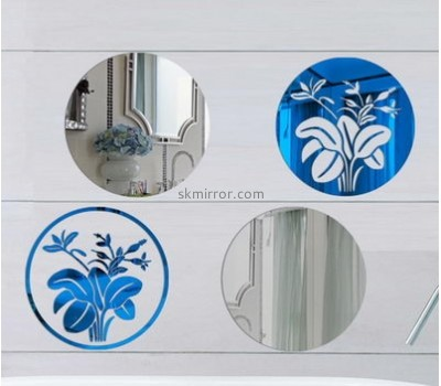 Mirror factory customized acrylic 3d mirror wall stickers MS-1003