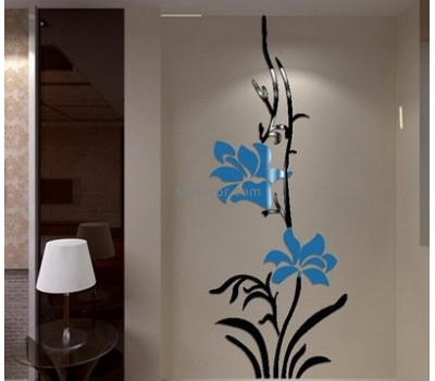 Wholesale mirrors suppliers customized acrylic mirror sticker wall decor MS-1027