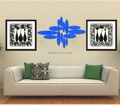 Mirror factory customized acrylic home stickers for walls MS-1066