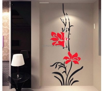 Mirror manufacture customized acrylic wall mirror decor stickers MS-1142