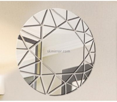 Acrylic company customized wall art mirror stickers MS-1151