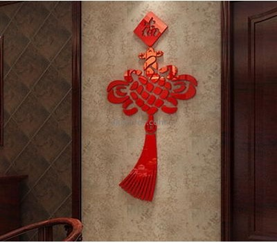 Acrylic items manufacturers customized 3d mirror wall art stickers MS-1162