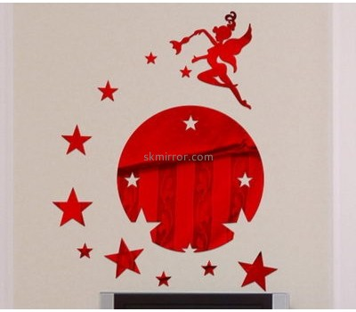 Perspex manufacturers custom decoration 3d wall art decals stickers MS-1220