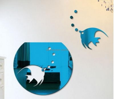 Plexiglass manufacturer custom wall decor mirror stickers for living room MS-1312