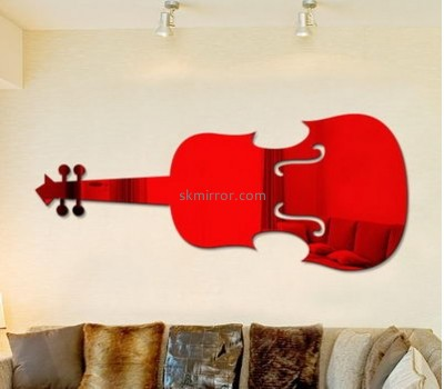 Acrylic products manufacturer custom 3d home wall mirror sticker MS-1318