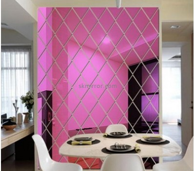 Acrylic products manufacturer custom large wall decals mirror stickers for bedroom MS-1369