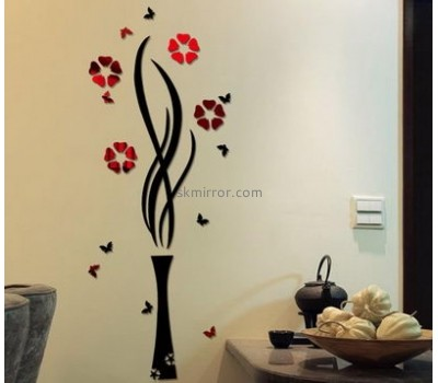 Acrylic items manufacturers custom wall decals mirror sticker MS-1392