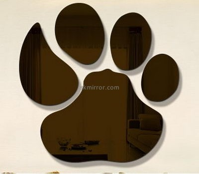 Acrylic factory custom mirror decals stickers MS-1502