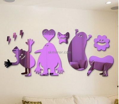 Customized acrylic wall stickers for bedrooms MS-1589