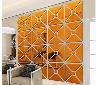 Bespoke acrylic decorative wall mirrors for living room MS-1617