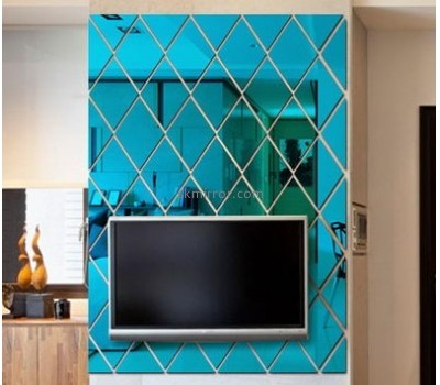 Bespoke acrylic 3d mirror wall stickers MS-1641
