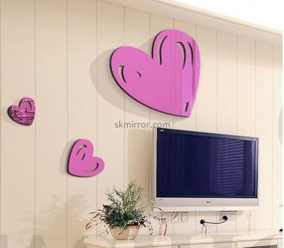 Bespoke acrylic mirror decorative wall stickers MS-1650